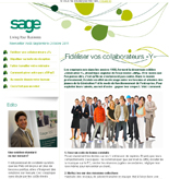 Newsletter Sage Août Septembre Octobre 2011