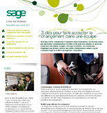 Newsletter Sage Mars Avril 2011